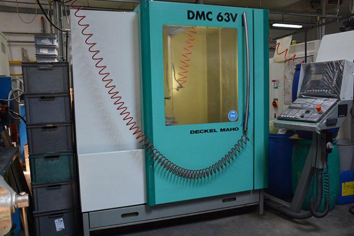 dmg centro di lavoro cnc 5